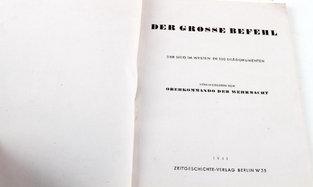 GERMAN WWII PHOTO ALBUM DER GROSSE BEFEHL - 2