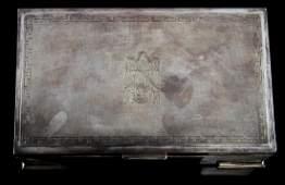 WWII THIRD REICH GERMAN ADOLF HITLER CIGARETTE BOX