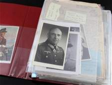 WWII GERMAN THIRD REICH LARGE SIGNED PHOTO LOT
