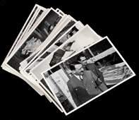 LOT OF 40 GERMAN WWII ERA PHOTOS HITLER  GOEBBELS