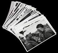 LOT OF 46 RARE WWII PHOTOS OF HITLER IN EUROPE