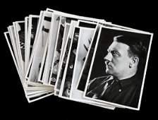 LOT 30 RARE WWII PHOTOS HITLER GOERING GOEBBELS