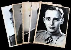 WWII GERMAN THIRD REICH KNIGHTS CROSS WINNER PHOTO