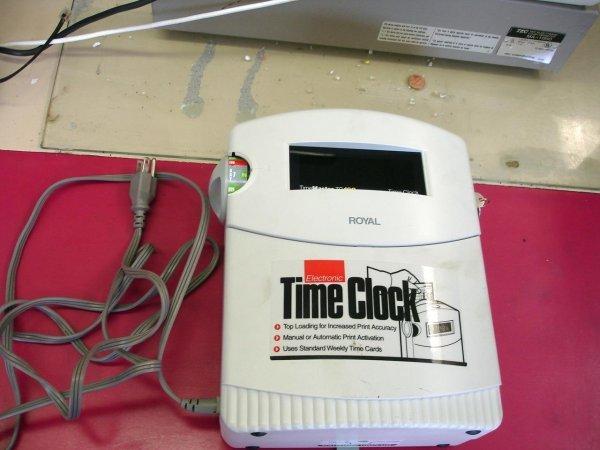 ROYAL TIME CLOCK ELECTRONIC TC100 MASTER