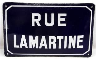 WWII GERMAN THIRD REICH GESTAPO HDQTRS STREET SIGN