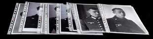 10 WWII GERMAN SS PANZER DIV PHOTOGRAPH NEGATIVE