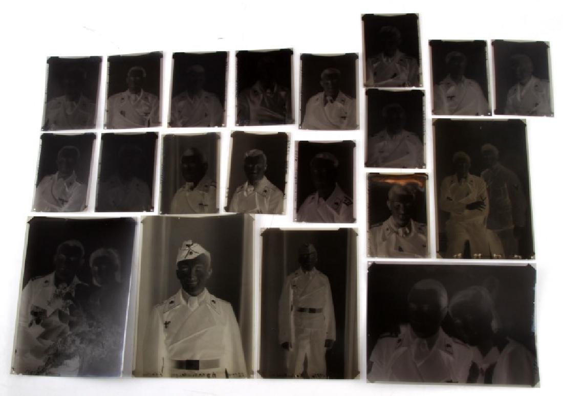 20 SS PANZER DIV. PHOTOGRAPH LOT WITH NEGATIVES