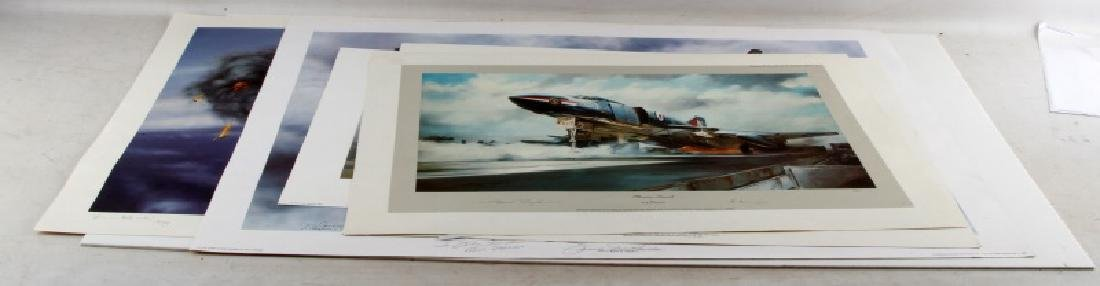 ASSORTED LIMITED EDITION SIGNED AVIATION ART PRINT