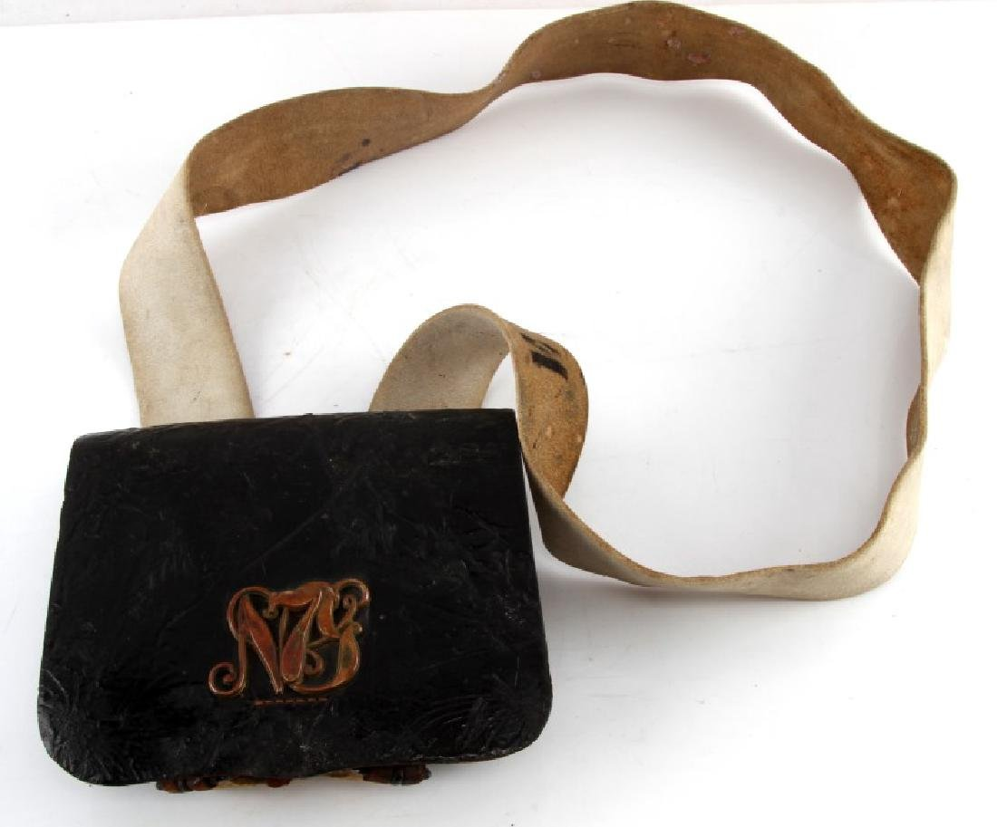 INDIAN WARS NEW YORK 7TH NATIONAL GUARD AMMO POUCH
