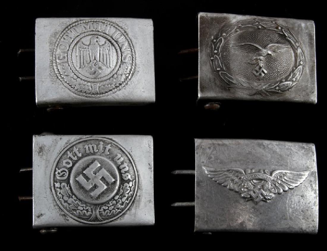 WWII GERMAN THIRD REICH WEHRMACHT BELT BUCKLE LOT