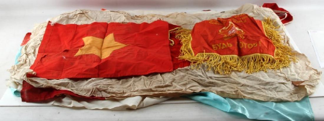 WWII JAPAN BRITANNIA NORTH VIETNAM & MORE FLAG LOT