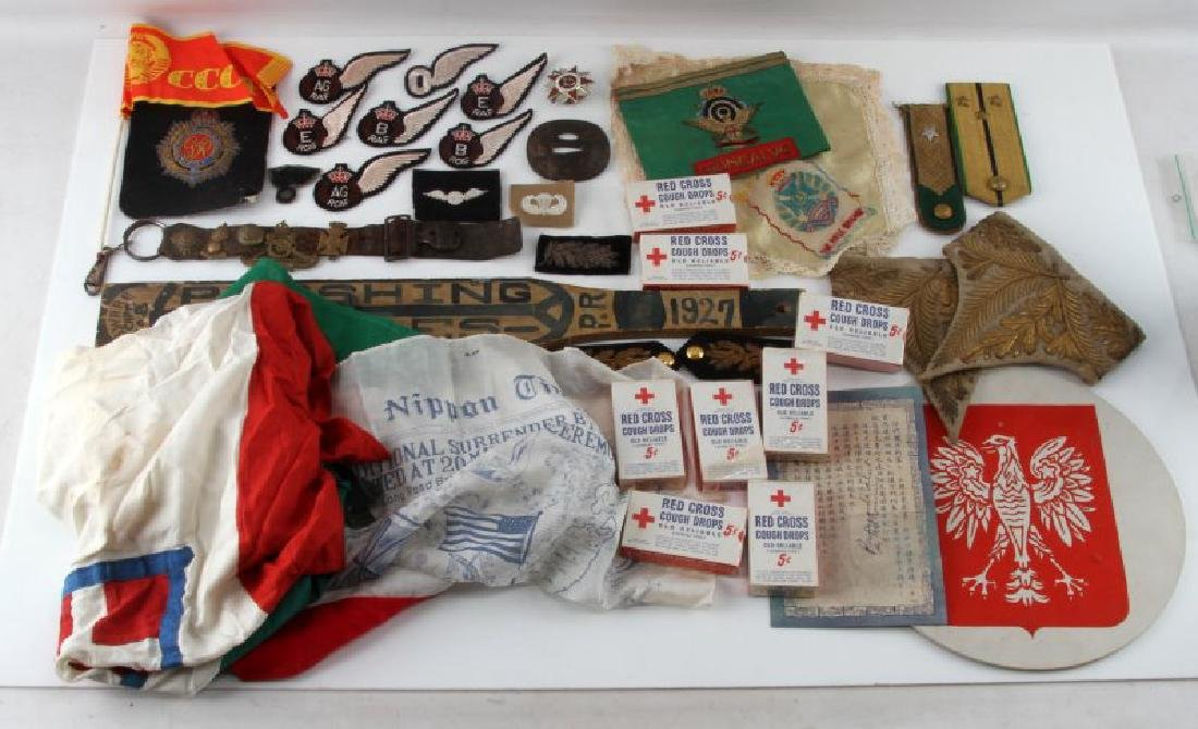 MULTI CONFLICT WWI WWII WORLD MILITARY COLLECTIBLE