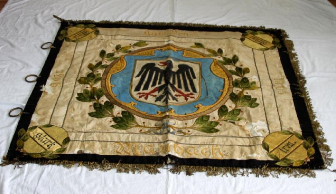 WWI IMPERIAL GERMAN PRUSSIAN BANNER OR FLAG