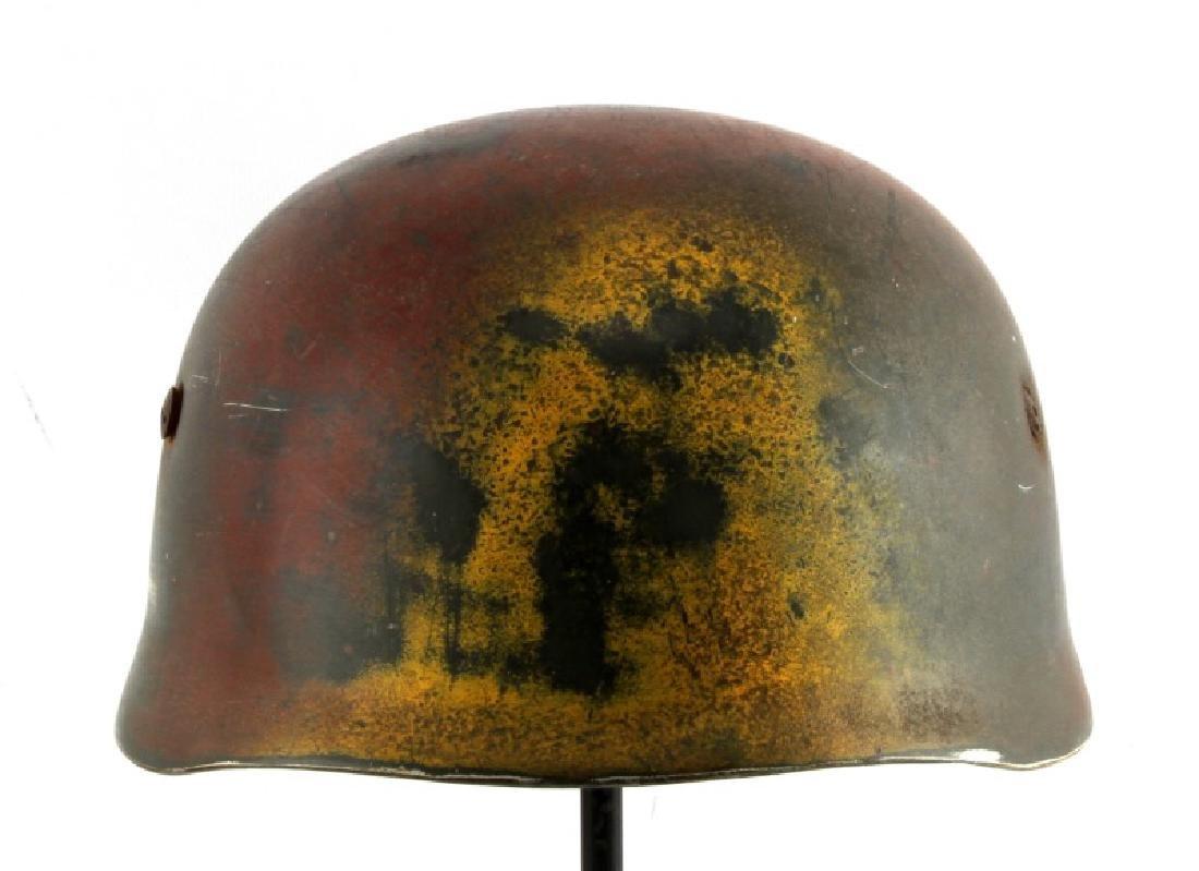 WWII GERMAN THIRD REICH FALLSCHIRMJAGER STAHLHELM