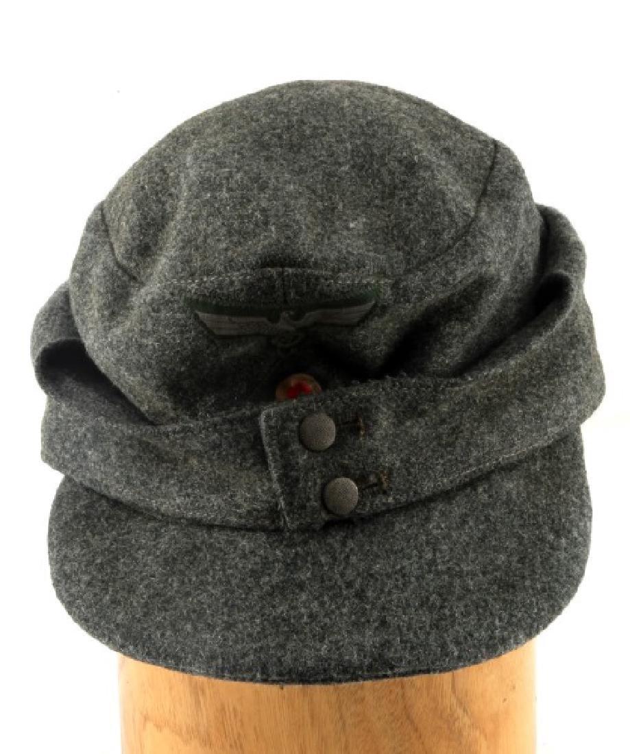 WWII GERMAN THIRD REICH M-43 HEER FIELD CAP
