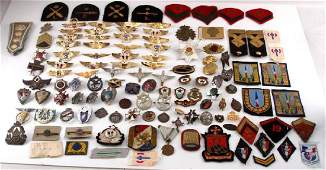LARGE MULTI CONFLICT MILITARY WING BADGE PATCH LOT
