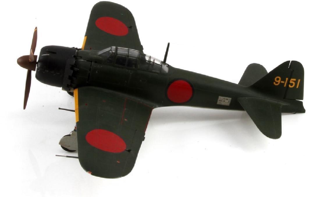 WWII JAPANESE A6M5 ZERO FIGHTER MODEL JOHN FICKLEN