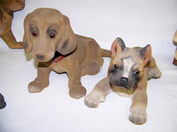 HUGE LOT OF ANTIQUE NODDING DOG BOBBLE HEAD   - 4