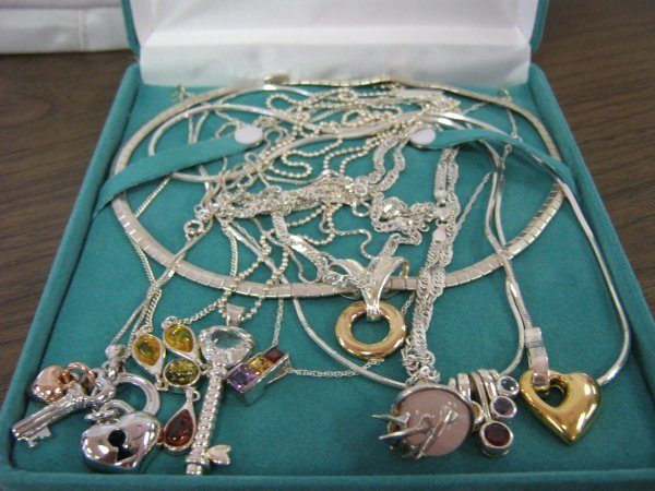 4 OUNCE STERLING SILVER NECKLACE COLLECTION