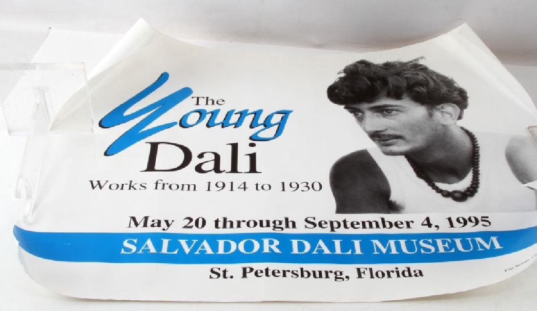 THE YOUNG DALI POSTER ST PETERSBURG 1995