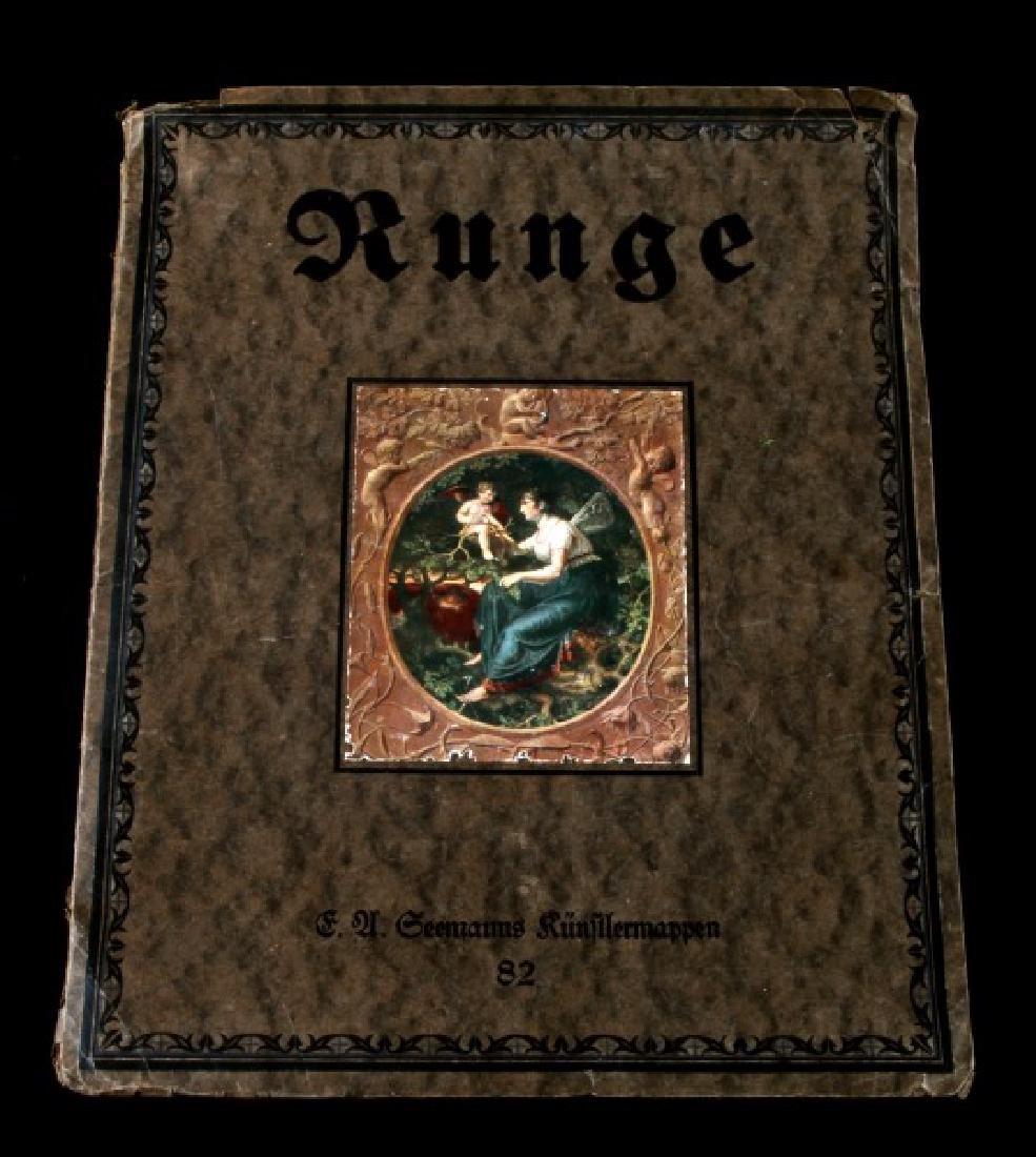PHILIPP OTTO RUNGE ANTIQUE GERMAN ROMANTIC BOOK