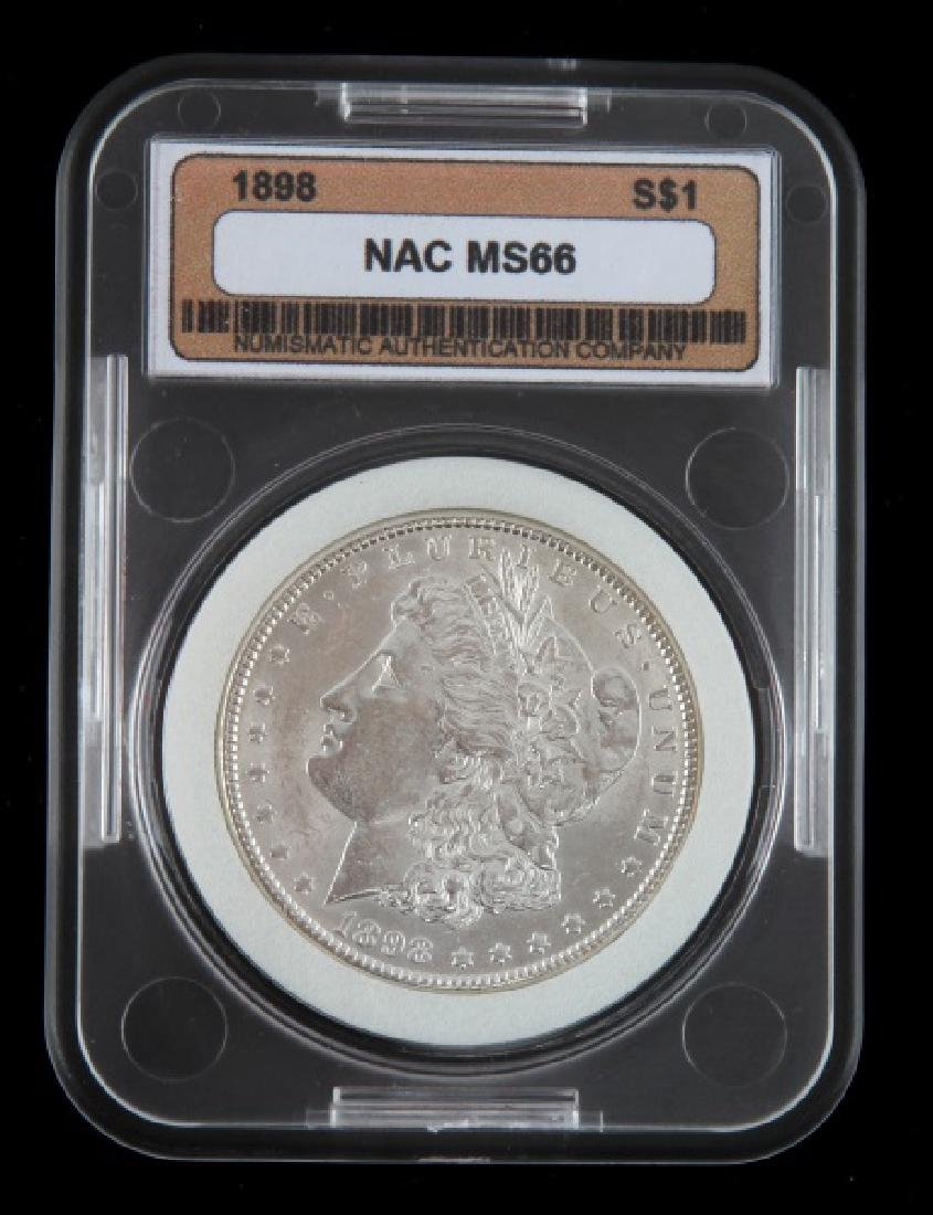 1898 MORGAN SILVER DOLLAR UNCIRC MINT STATE