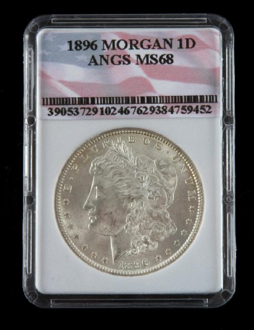 1896 MORGAN SILVER DOLLAR UNCIRC MINT STATE