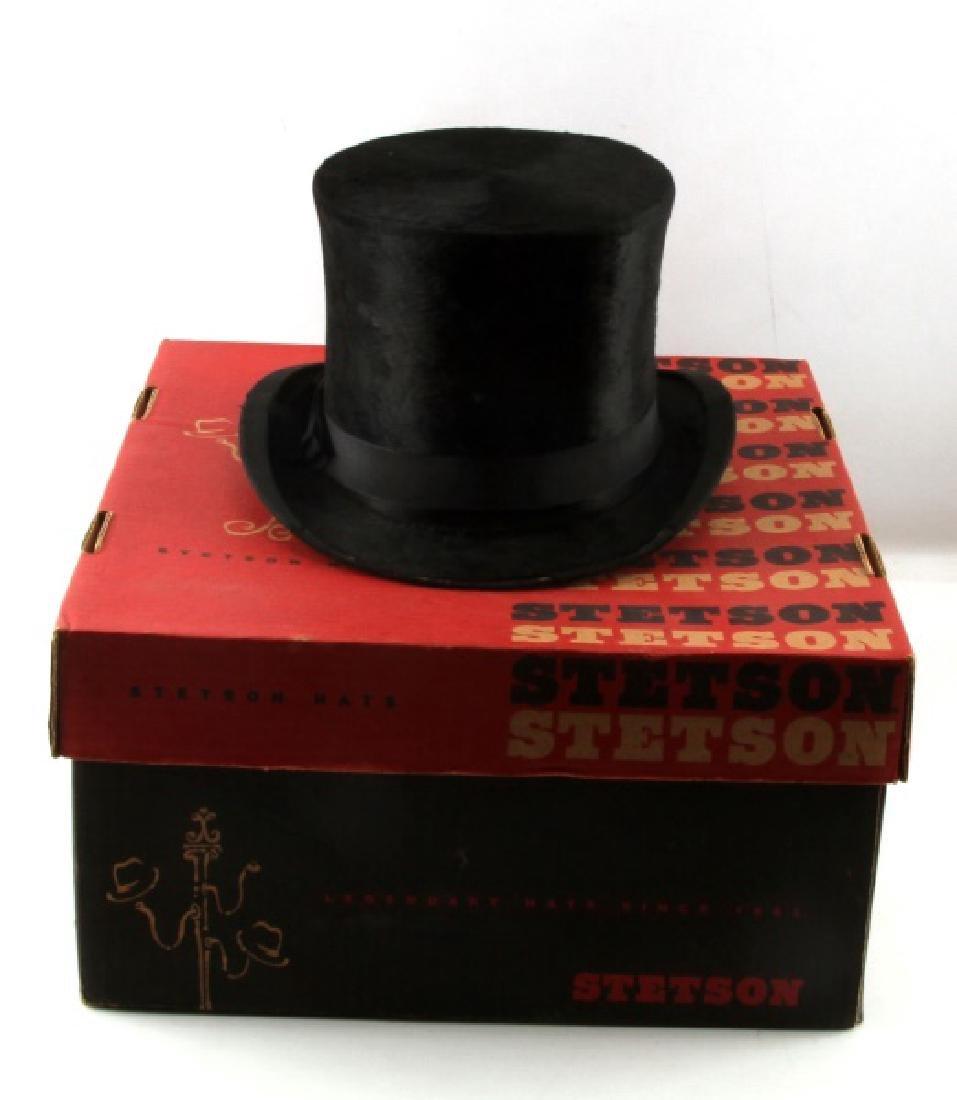 ANTIQUE WEST END STYLE BEAVER TOP HAT