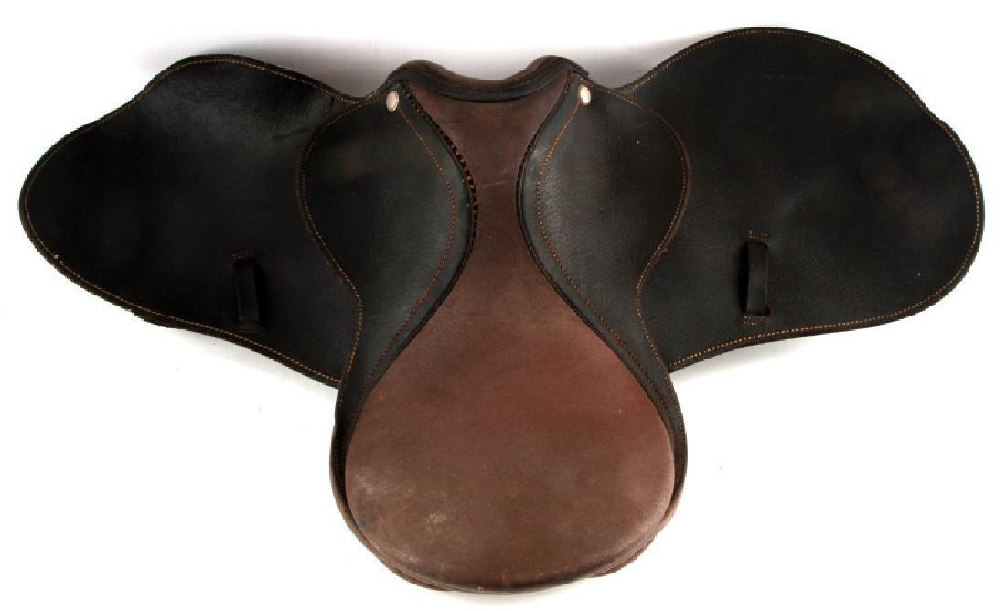 CHILDS LEATHER ENGLISH SADDLE UNMARKED CUSTOM