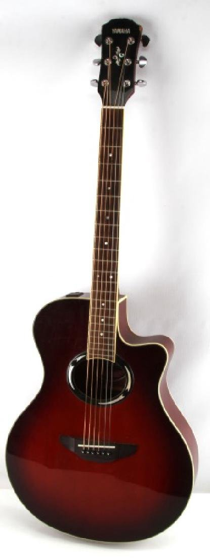YAMAHA APX 500II ACOUSTIC ELECTRIC GUITAR DUSK SUN