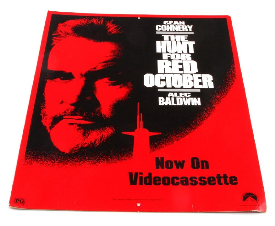 THE HUNT FOR RED OCTOBER VIDEO STORE POS DISPLAY