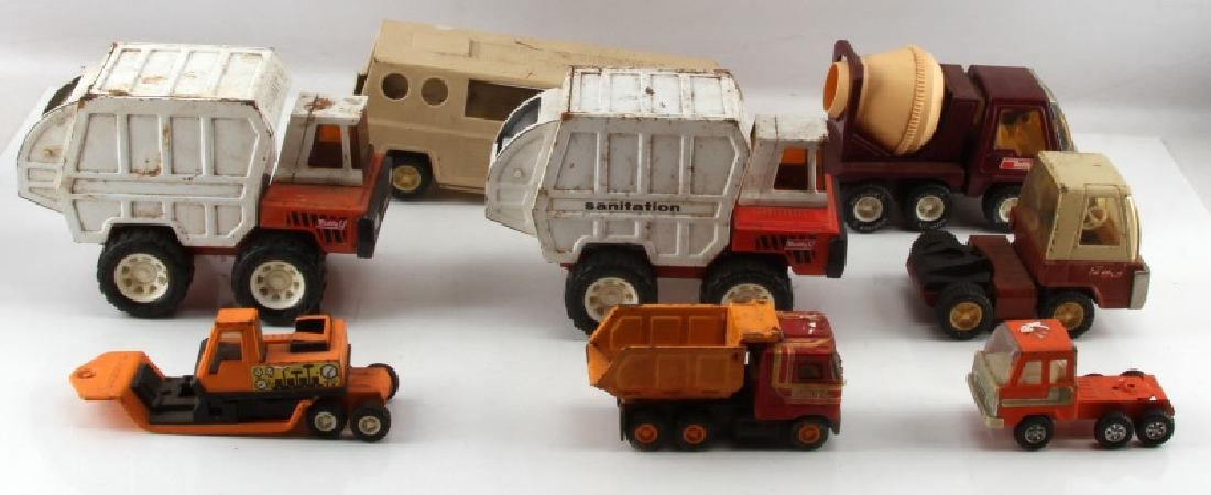JAPANESE BUDDY L DIE CAST MODEL TRUCK LOT OF 6