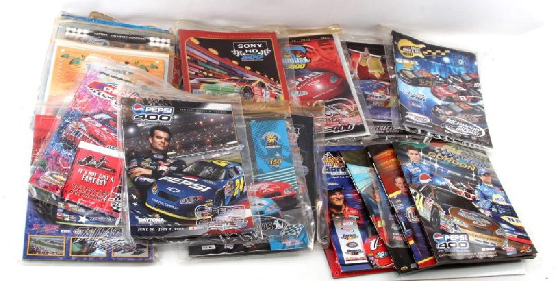 LOT 22 OFFICIAL NASCAR & RACING SOUVENIR PROGRAMS