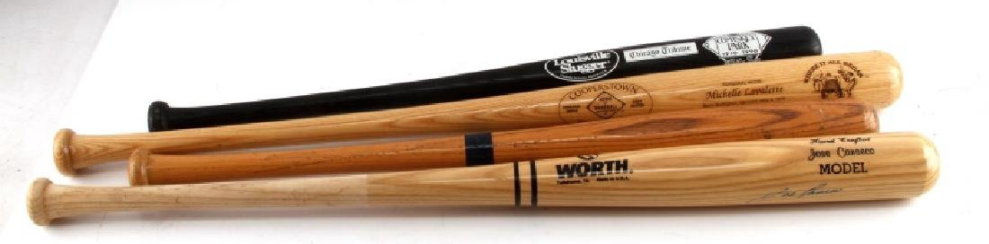 LOT OF 4 BASEBALL BATS