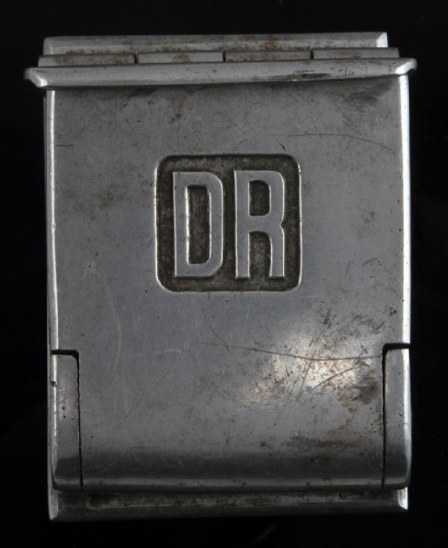 WWII GERMAN RR CAR ASHTRAY DEUTSCHE REICHSBAHN