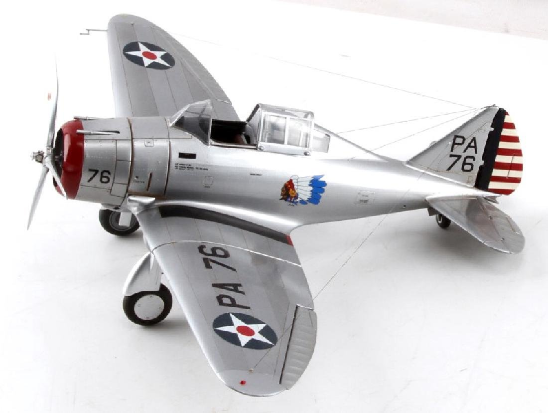WWII US SEVERSKY P35 FIGHTER JET MODEL BY FICKLEN