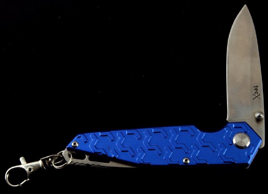 CASE XX TEC X FOLDING POCKET KNIFE BLUE