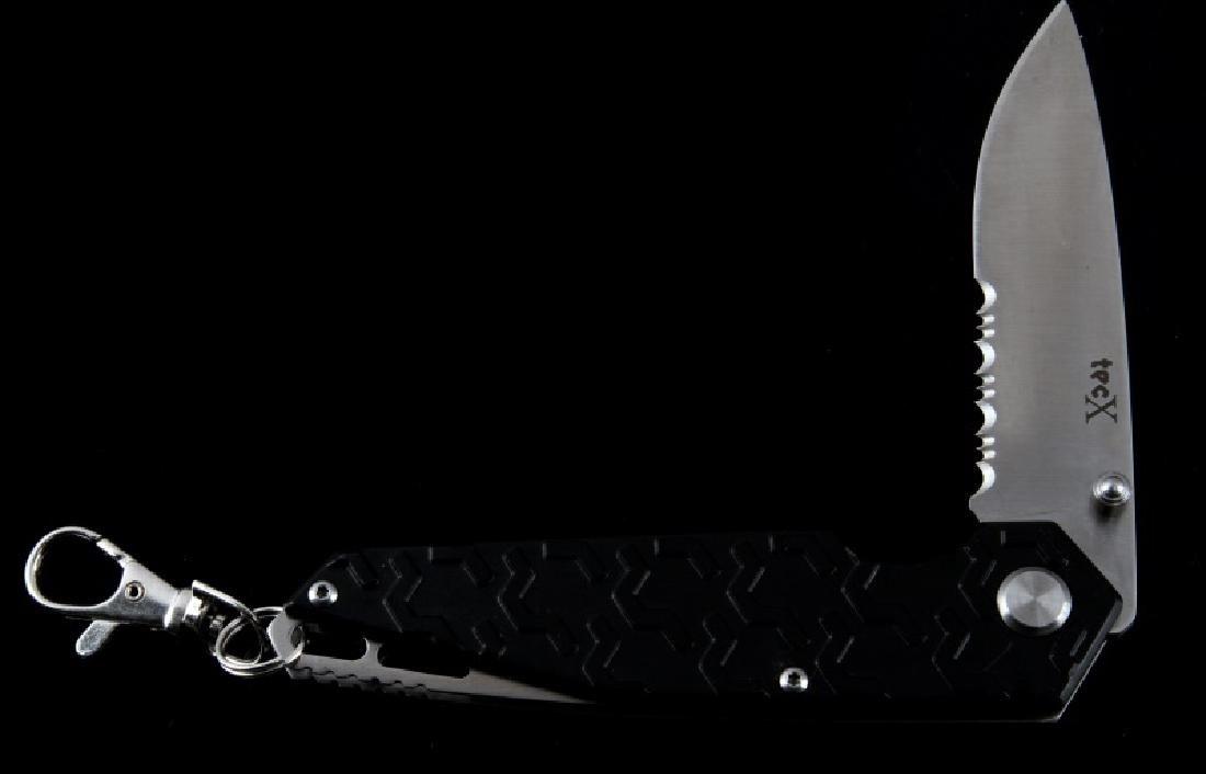CASE XX TEC X FOLDING POCKET KNIFE BLACK