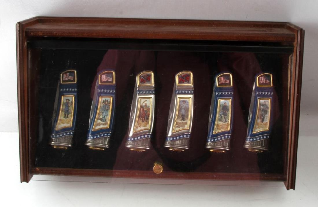 FRANKLIN MINT US CIVIL WAR KNIFE COLLECTION