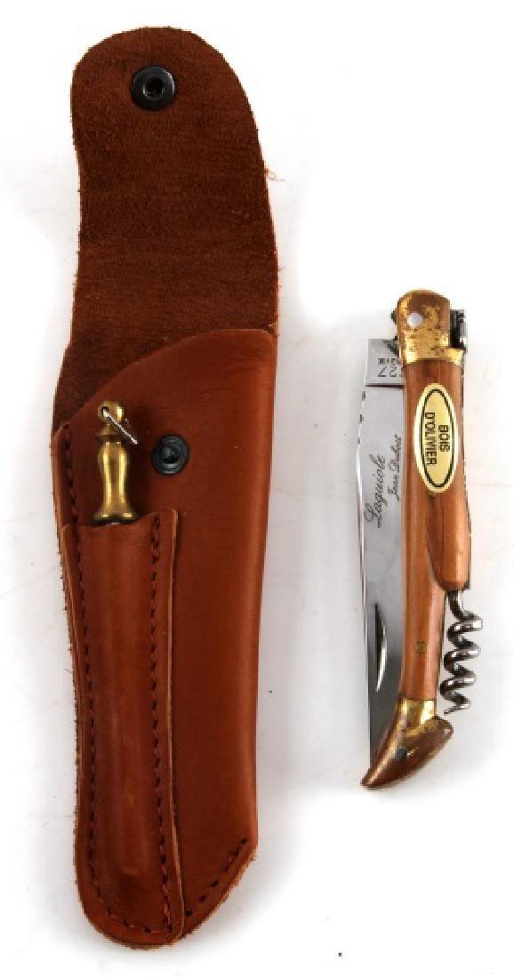 LAGUIOLE JEAN DUBOST SANDVIK 12C27 KNIFE W BOX
