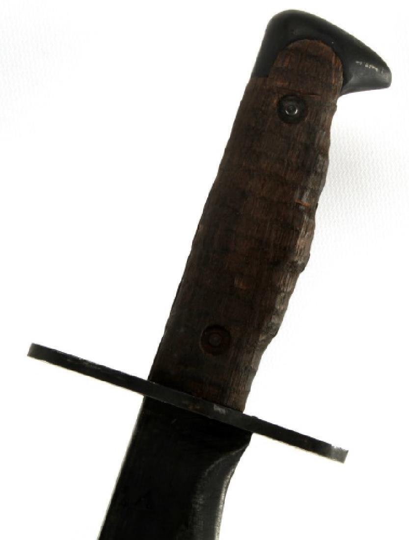 US ARMY WWI MODEL 1917 PLUMB BOLO KNIFE W SHEATH