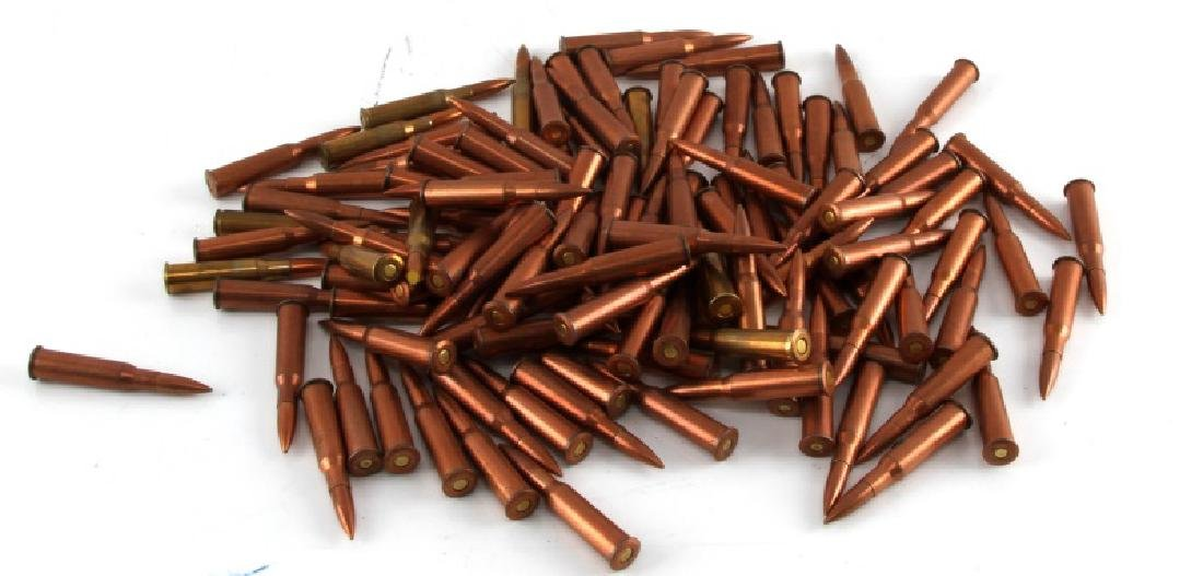 OVER 130 ROUNDS OF 7.62 SHELLS AMMO AMMUNITION