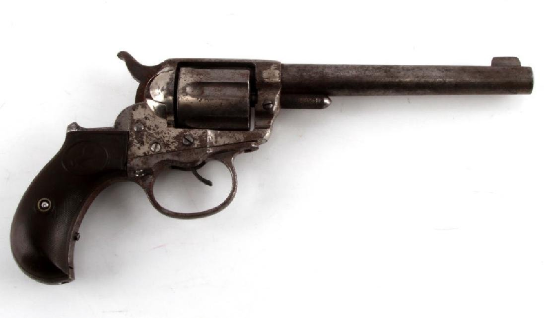 ANTIQUE COLT M1877 LIGHTNING 6 SHOT REVOLVER .38