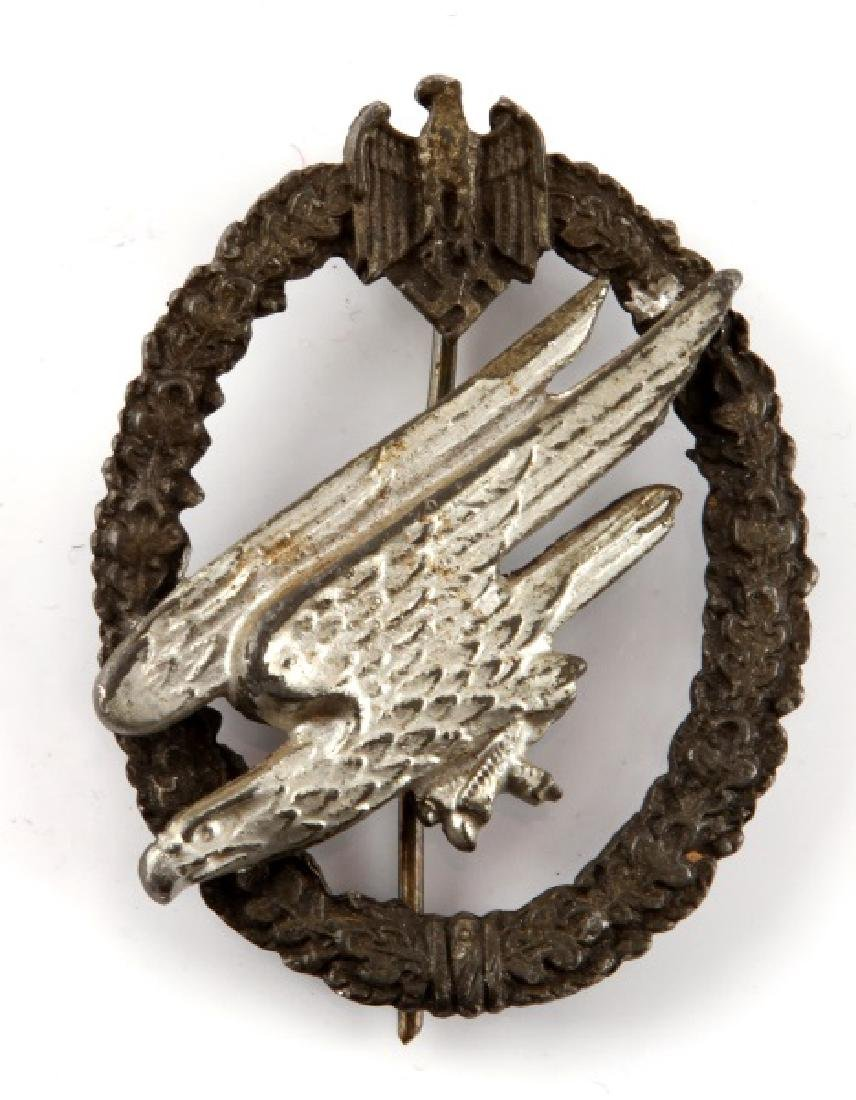 GERMAN WWII LUFTWAFFE PARATROOPER BADGE