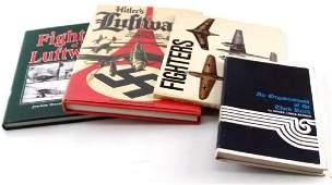 WWII GERMAN 3RD REICH LUFTWAFFE HISTORY BOOK LOT