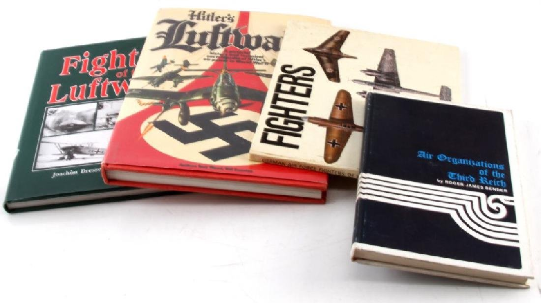 WWII GERMAN 3RD REICH LUFTWAFFE HISTORY BOOK LOT