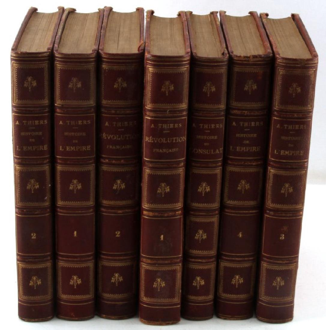 BOOK COLLECTION FRENCH REVOLUTION AND NAPOLEON