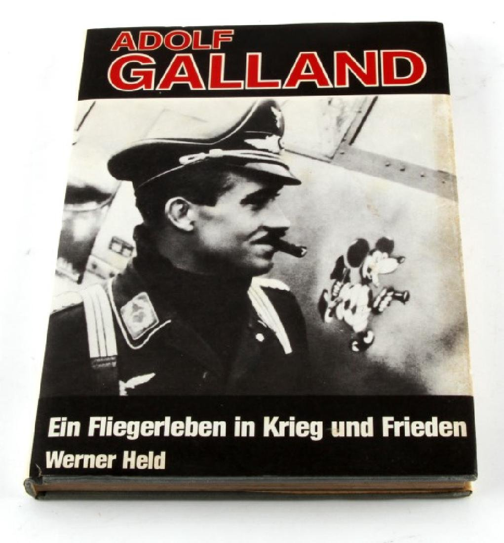 ADOLF GALLAND GERMAN WII FIGHTER ACE AUTOGRAPHED