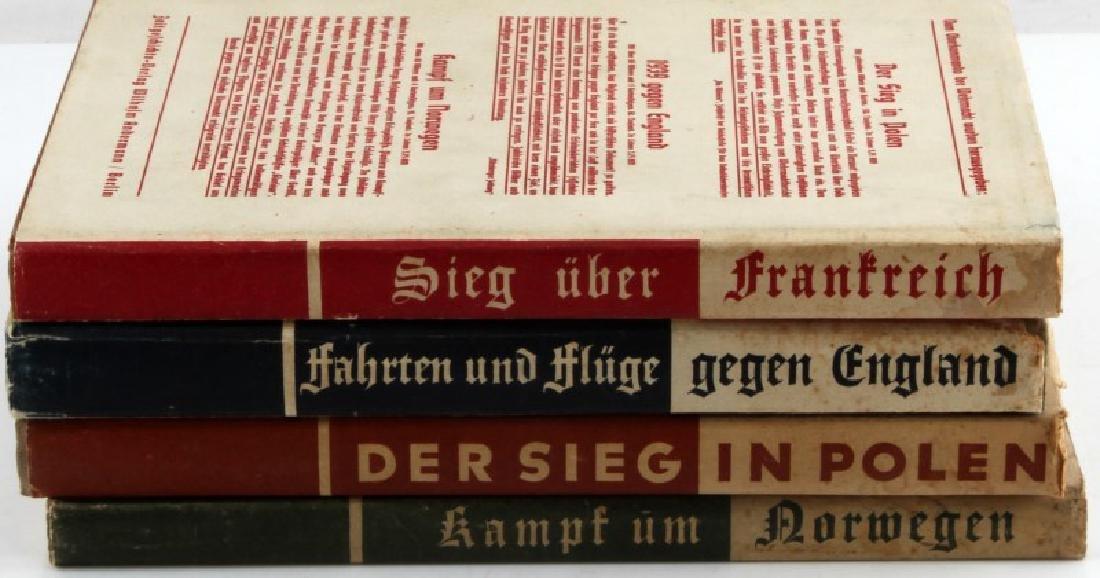 4 GERMAN WWII MILITARY BOOK LOT OBERKOMMANDO