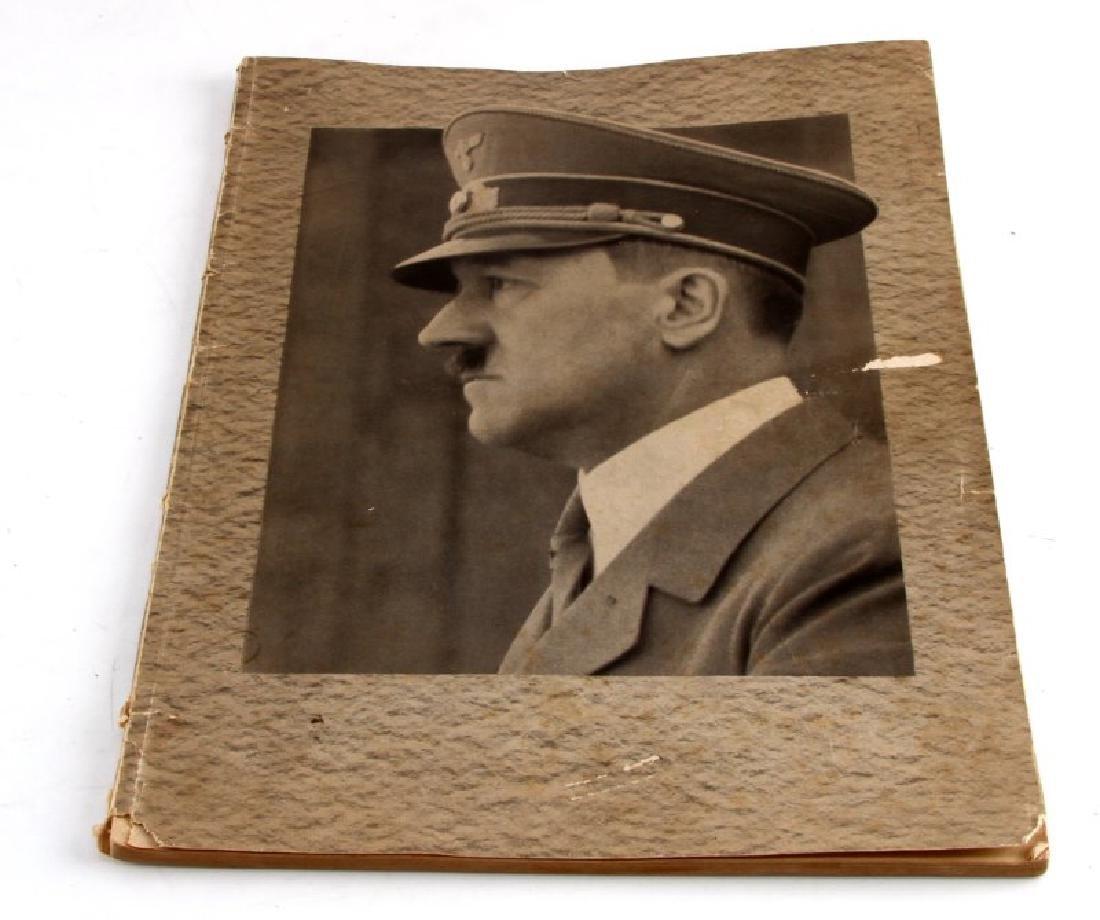 UNSER FUHRER 1939 PRINT HITLER PROPAGANDA BOOK